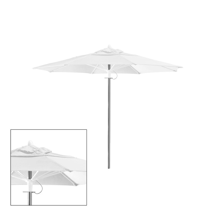 Source Furniture Rio 8' Round Double Vented Canopy
