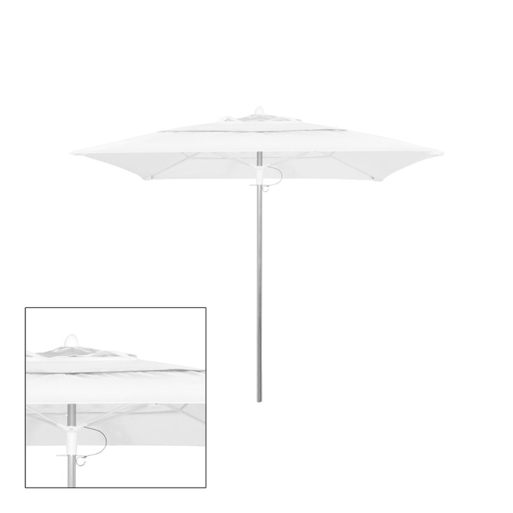 Source Furniture Rio 9' Square Double Vented Canopy