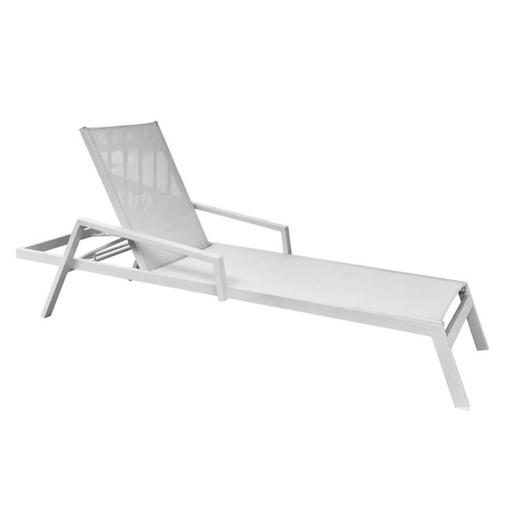 Panama Jack Mykonos Sling Chaise Lounge with Cushion