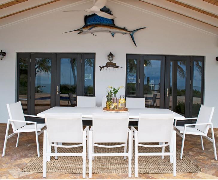 Panama Jack Mykonos 9 PC Rectangular Dining Set