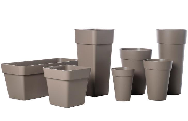 Alfresco Home Medium Liken Pot - Tortora