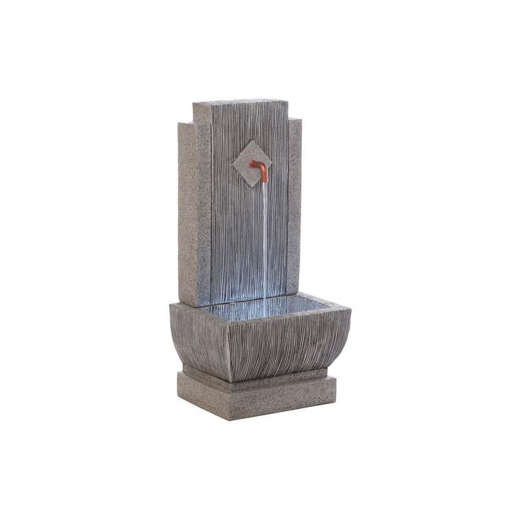 Alfresco Home Replenish Resin Fountain w/ LED Light & Pump