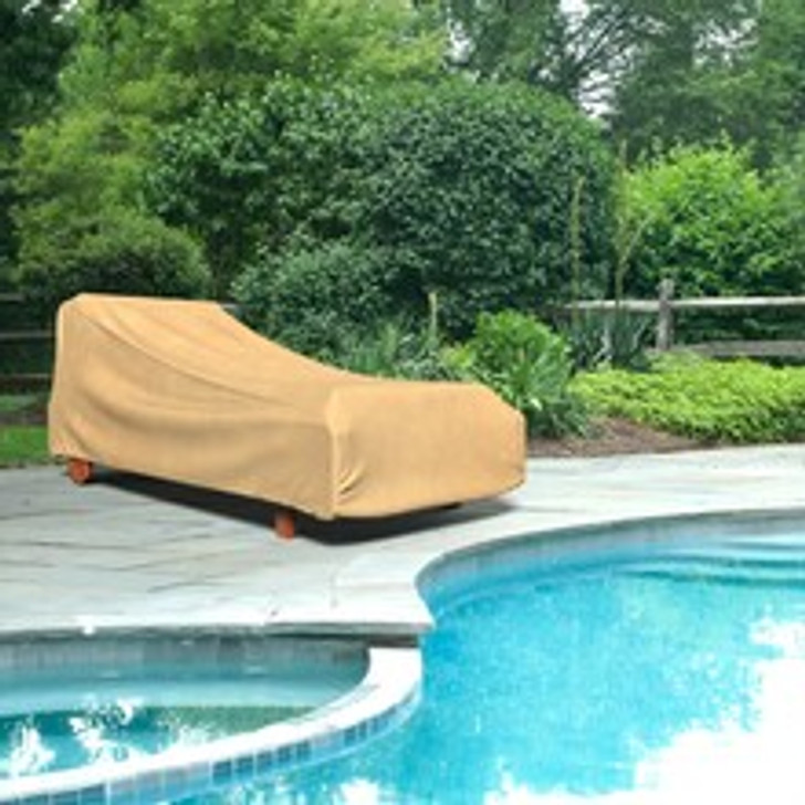 Budge Industries All Seasons Double Patio Chaise Lounge Cover