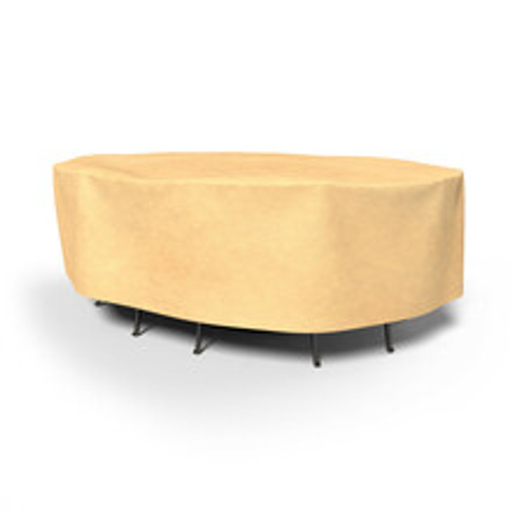 Budge Industries All Seasons Oval Table/Chair Combo Cover