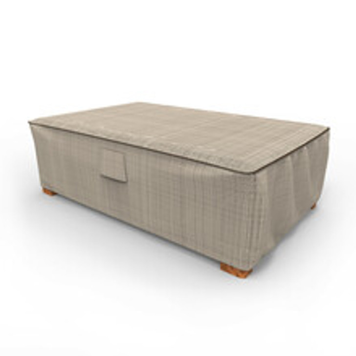 Budge Industries English Garden Patio Ottoman/Coffee Table Cover - Large