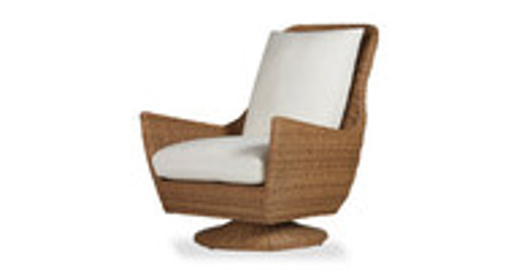 Replacement Cushions for Lloyd Flanders Tobago High Back Swivel Rocker Lounge Chair