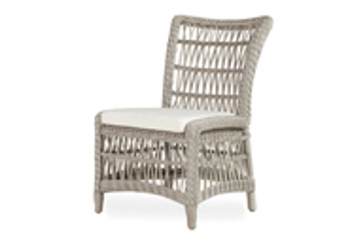 Replacement Cushions for Lloyd Flanders Mackinac Armless Dining Chair