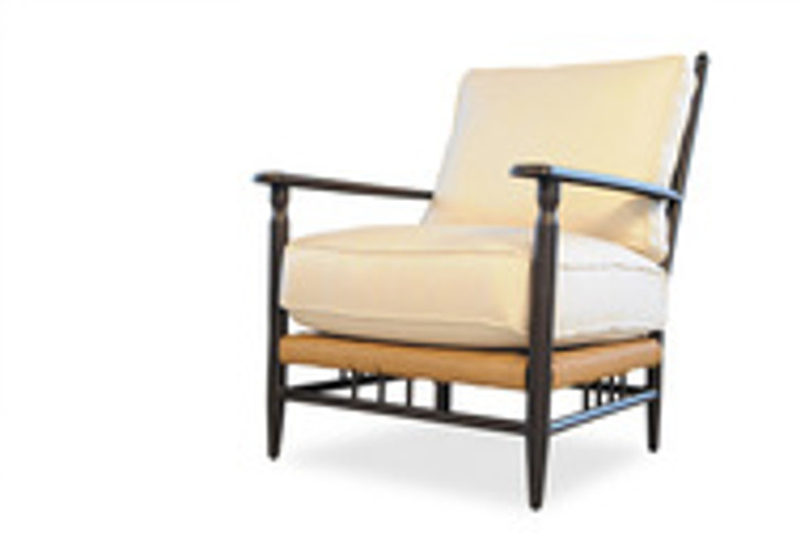 Replacement Cushions for Lloyd Flanders Low Country Vinyl Wicker Lounge Chair
