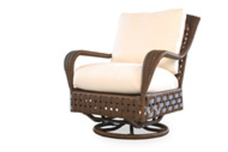 Replacement Cushions for Lloyd Flanders Haven Wicker Swivel Glider Lounge Chair