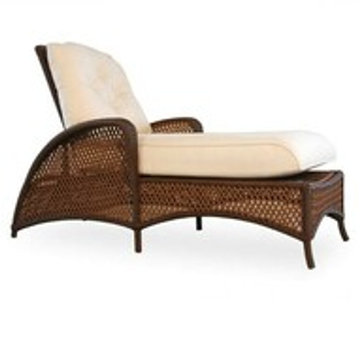 Replacement Cushions for Lloyd Flanders Grand Traverse Wicker Chaise Lounge
