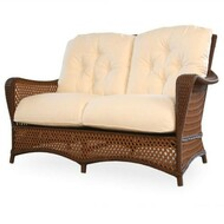 Replacement Cushions for Lloyd Flanders Grand Traverse Wicker Loveseat