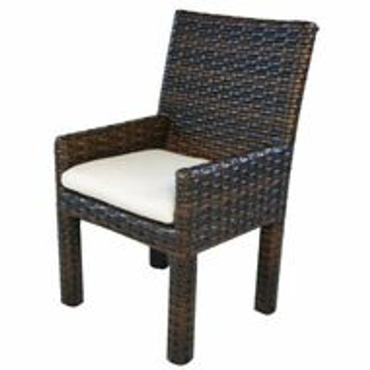 Replacement Cushions for Lloyd Flanders Contempo Wicker Dining Arm Chair