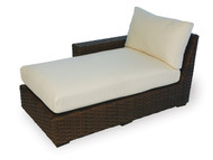 Replacement Cushions for Lloyd Flanders Contempo Wicker Right Arm Chaise