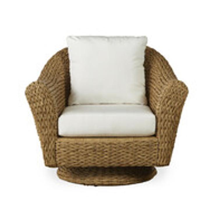 Replacement Cushions for Lloyd Flanders Cayman Wicker Swivel Rocker Lounge Chair