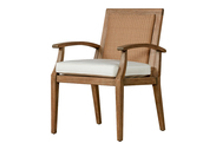 Replacement Cushions for Lloyd Flanders Wildwood Teak Dining Arm Chair