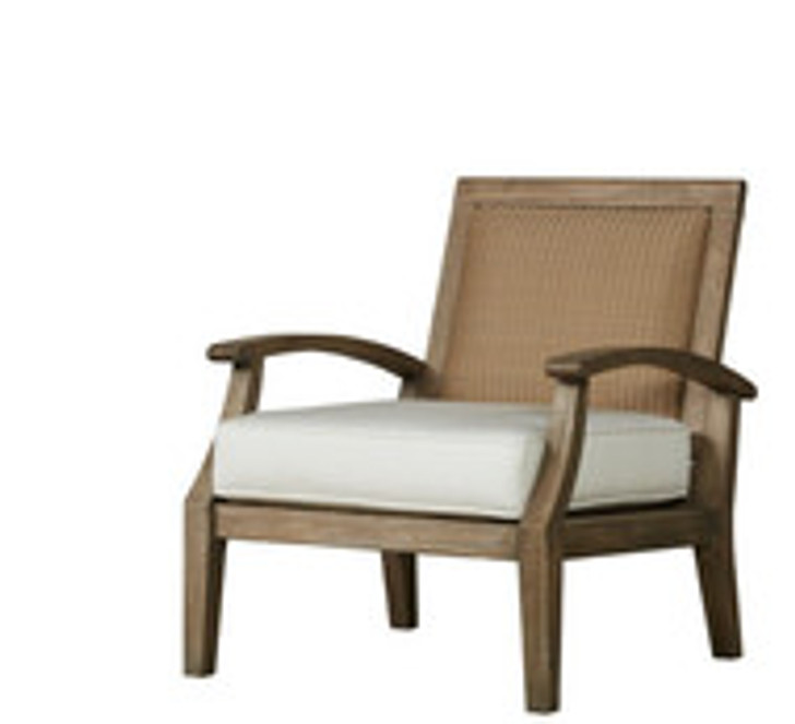 Replacement Cushions for Lloyd Flanders Wildwood Teak Lounge Chair