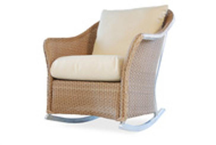 Replacement Cushions for Lloyd Flanders Weekend Retreat Wicker Lounge Rocker