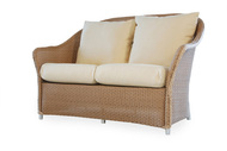 Replacement Cushions for Lloyd Flanders Weekend Retreat Wicker Love Seat
