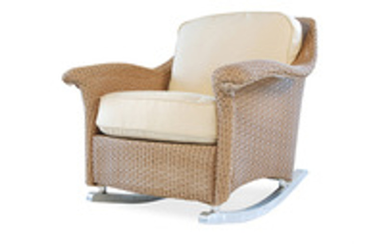 Replacement Cushions for Lloyd Flanders Oxford Wicker Lounge Rocker