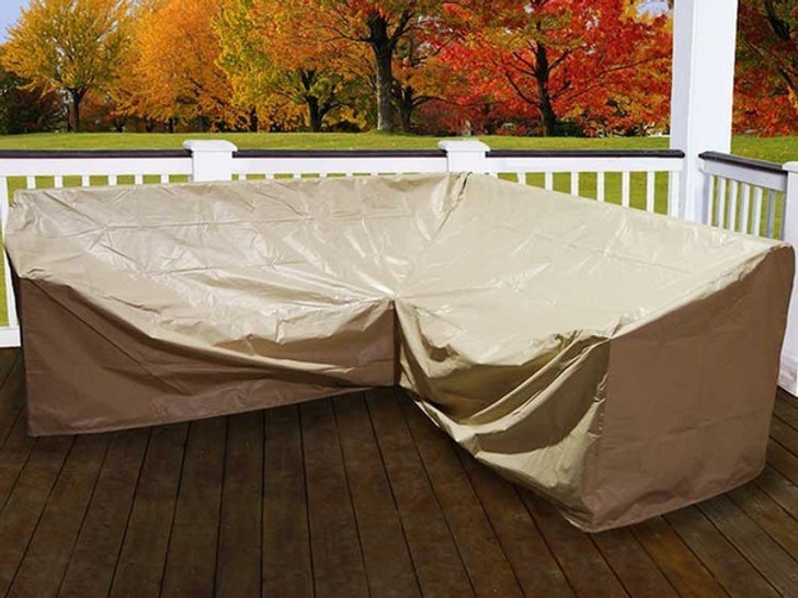 Forever Patio Hampton 5 Piece Sectional Cover by NorthCape International
