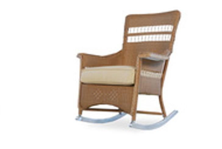 Replacement Cushions for Lloyd Flanders Nantucket Wicker Porch Rocker