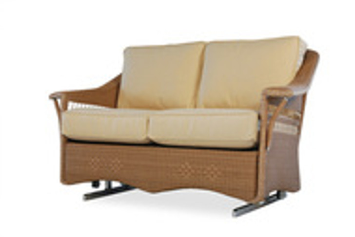Replacement Cushions for Lloyd Flanders Nantucket Wicker Love Seat Glider