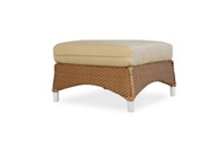 Replacement Cushions for Lloyd Flanders Mandalay Wicker Ottoman