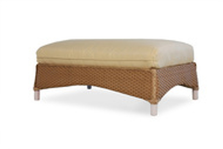 Replacement Cushions for Lloyd Flanders Mandalay Large Wicker Ottoman