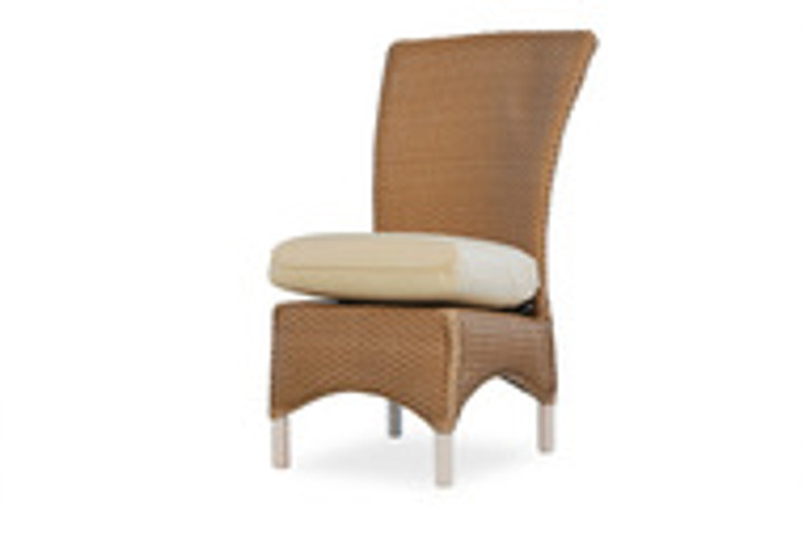 Replacement Cushions for Lloyd Flanders Mandalay Wicker Armless Dining Chair