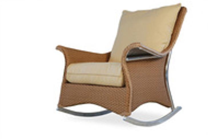 Replacement Cushions for Lloyd Flanders Mandalay Wicker Lounge Rocker