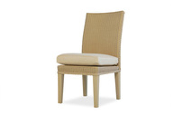 Replacement Cushions for Lloyd Flanders Hamptons Wicker Armless Dining Chair