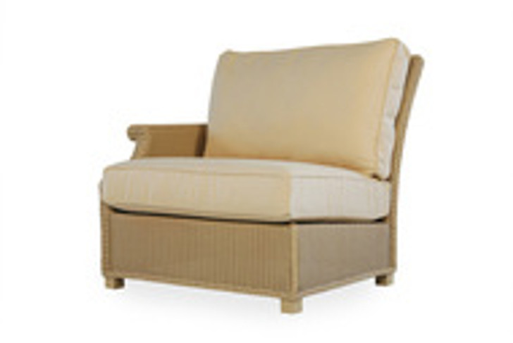 Replacement Cushions for Lloyd Flanders Hamptons Wicker Right Arm Sectional Chair