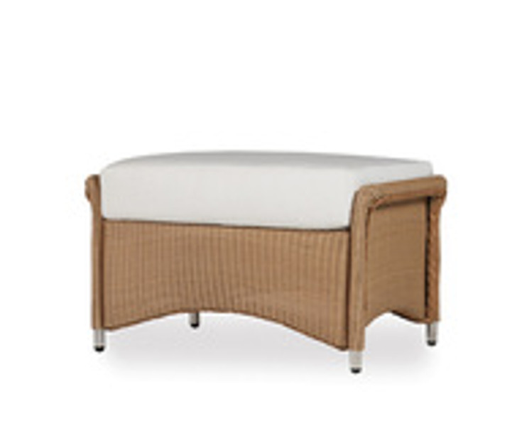 Replacement Cushions for Lloyd Flanders Generations Wicker Ottoman