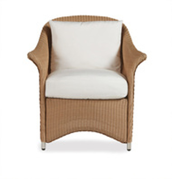 Replacement Cushions for Lloyd Flanders Generations Wicker Dining Arm Chair