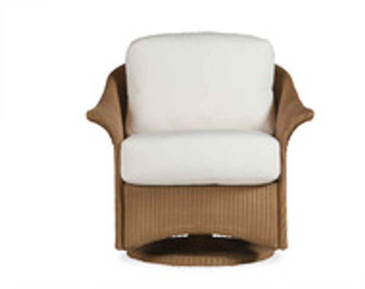 Replacement Cushions for Lloyd Flanders Generations Wicker Swivel Glider Lounge Chair