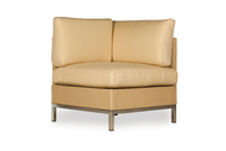 Replacement Cushions for Lloyd Flanders Elements Wicker Corner Sectional Chair with Loom Back