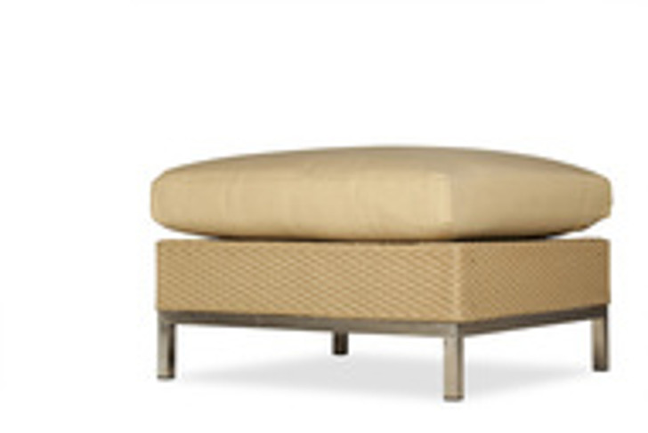 Replacement Cushions for Lloyd Flanders Elements Wicker Ottoman