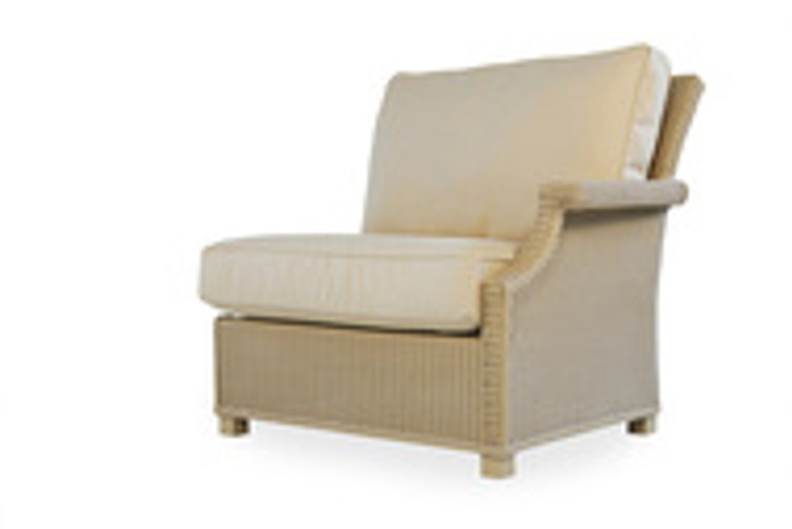 Replacement Cushions for Lloyd Flanders Hamptons Wicker Left Arm Sectional Chair
