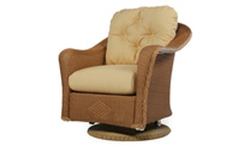 Replacement Cushions for Lloyd Flanders Reflections Wicker Swivel Glider Lounge Chair