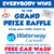 Buy 10 or more tickets and get 2 free.  Free Waterway carwash with every purchase.