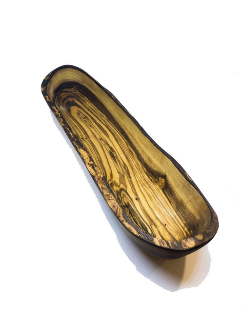 MarnaMaria Spices and Herbs Olive Wood Bread Dish