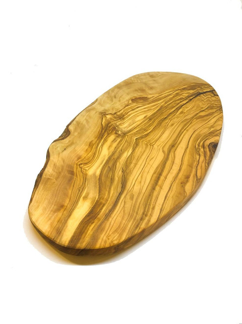 MarnaMaria Spices and Herbs Olive Wood Natural Cutting/Serving Board