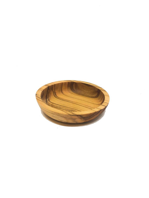 MarnaMaria Spices and Herbs Olive Wood Round Dipping Bowls