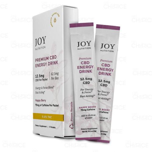 Joy Organics CBD Energy Drink Mix 5 pack