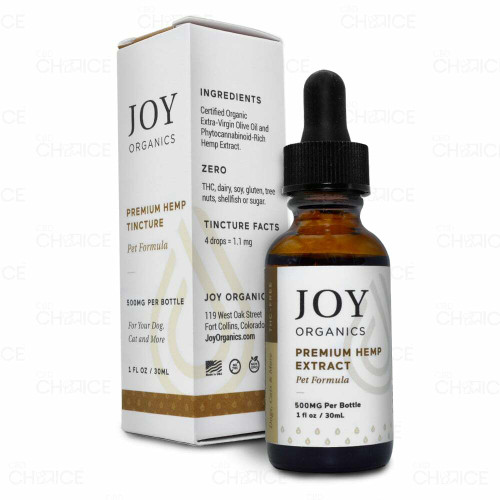 Joy Organics CBD Oil Tincture for Pets 500mg