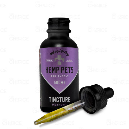 Hemp Pets Natural Flavored CBD Oil for Dogs and Cats 30ml