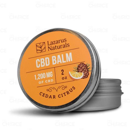 Lazarus Naturals Cedar Citrus Full Spectrum CBD Balm 2oz