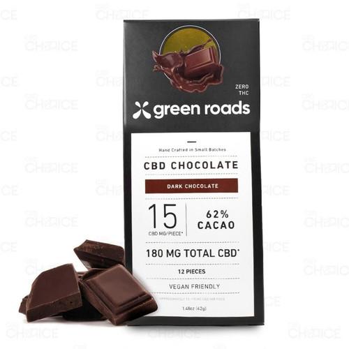 Green Roads CBD Dark Chocolate Bar 1.48oz