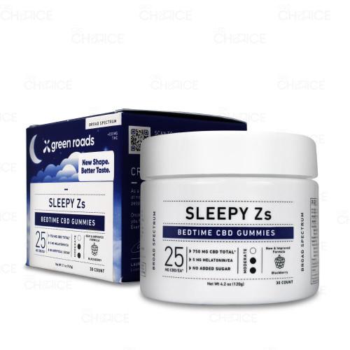 Green Roads or Sleepy Zs Gummies 30 count
