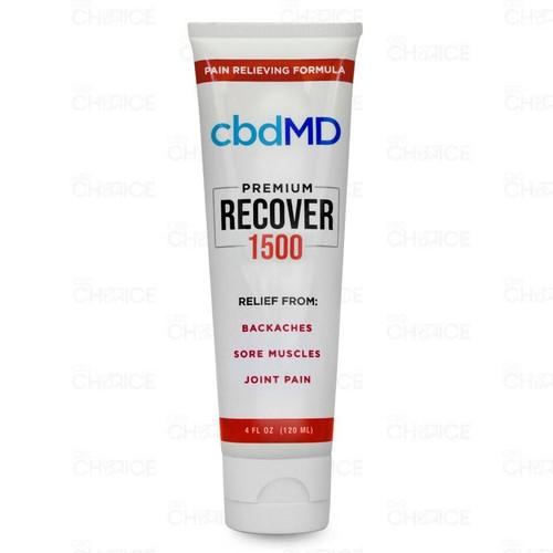 cbdMD Premium Recover Pain Relieving Formula 1500mg